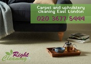 Professional carpet cleaning East London