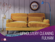 Upholstery Cleaning Service in Fulham
