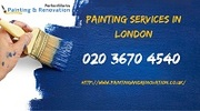 Interior and exterior painting London